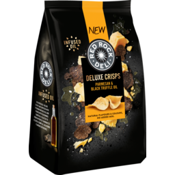 Photo of Red Rock Deli Deluxe Crisps Parmesan & Black Truffle Oil 135g