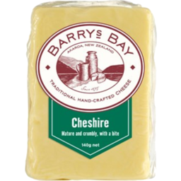 Photo of Barrys Bay Cheese Cheshire 140g