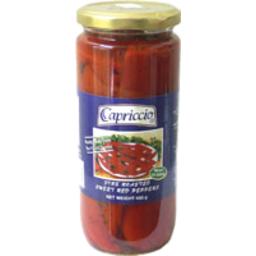 Photo of Capriccio Fire Rstd Peppers 450g