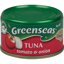 Photo of Greenseas Canned Seafood Tuna Tomato And Onion 95g