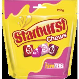 Photo of Starburst Chews Fave Reds 235g