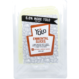 Photo of Yolo Cheese Emmental Slices 160g