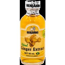 Photo of Benjamins Ginger Extract