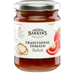 Photo of Barkers Traditional Tomato Relish 240gm