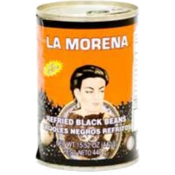 Photo of La Morena Blk Refried Beans 440g