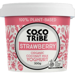 Photo of Coco Tribe Strawberry Organic Coconut Milk Yoghurt 300g