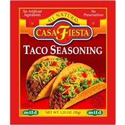 Photo of Casa Festa Taco Seasoning 35gm