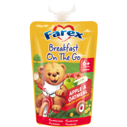 Photo of Farex® Breakfast On The Go Apple & Oatmeal 6+ Months 120g