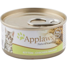 Photo of Applaws Cat Food Can Kitten Chicken 70g
