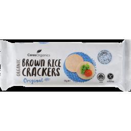 Photo of Brown Rice Crackers - Original 115g