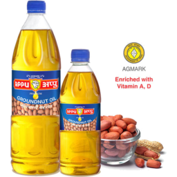 Photo of Appu Groundnut Oil 1ltr