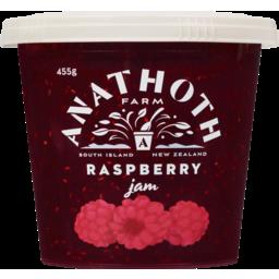 Photo of Anathoth Farm Jam Raspberry 455g
