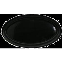 Photo of Platter Oval Black 47cm