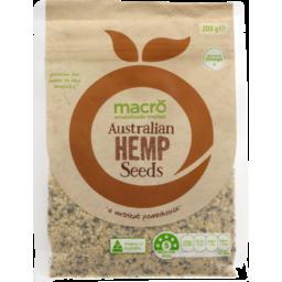 Photo of Macro Hemp Seeds 200g