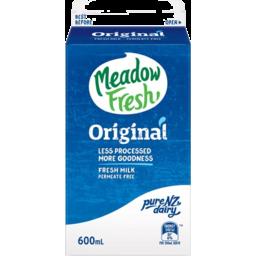 Photo of Meadow Fresh Milk Homogenised 600ml
