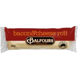 Photo of Balfour's Roll Bacon/Cheese Roll 150gm