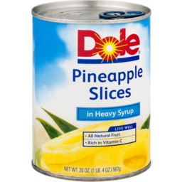 Photo of Dole Pineapple Slices Heavy Syrup