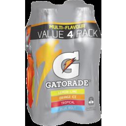 Photo of Gatorade 600ml Multi Flavour 4 Pack