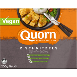 Photo of Quorn Vegan Breaded Schnitzel 200 Gram