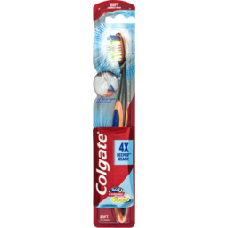 Photo of Colgate 360° Total Floss-Tip Bristles Compact Head Toothbrush Soft