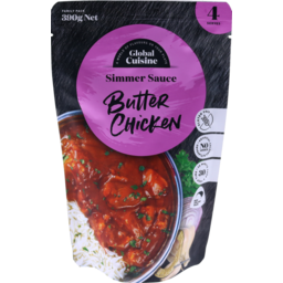 Photo of Diron Global Cuisine Global Cuisine Simmer Sauce Butter Chicken 390g