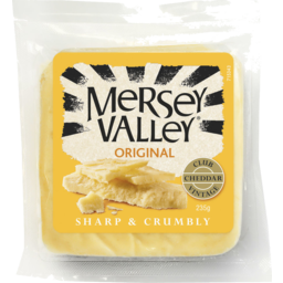 Photo of Mersey Valley Original Vintage Club Cheddar 235gm
