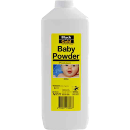 Photo of Black & Gold Baby Powder 600g