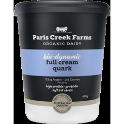 Photo of Paris Creek - Quark - Swiss - Full Cream - 450g