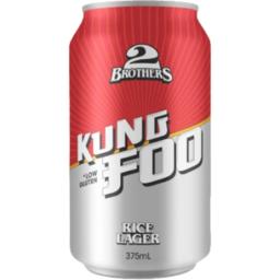 Photo of 2Brothers Kung Foo Lager 375ml