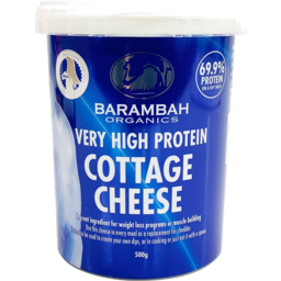 Photo of Barambah Cottage Cheese High Protein 500g