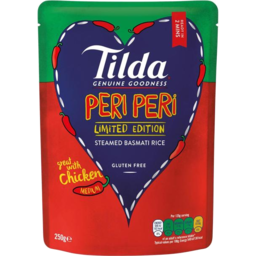 Photo of Tilda Peri Peri Bas Rice 340gm