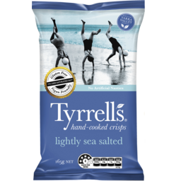 Photo of Tyrrells Lightly Sea Salted Crisps 165g