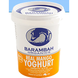 Photo of BARAMBAH MANGO yoghurt 200G