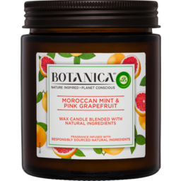 Photo of Air Wick Botanica Moroccan Mint & Pink Grapefruit Wax Candle 205g