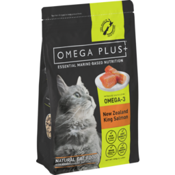 Photo of Omega Plus Dry Cat Food Salmon 500gm