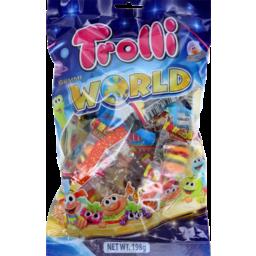 Photo of Trolli Candy Gummi World 198g