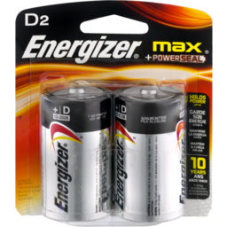 Photo of Energizer Max D2 - 2 Ct