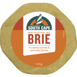 Photo of South Cape Brie Mini Cheese 125g