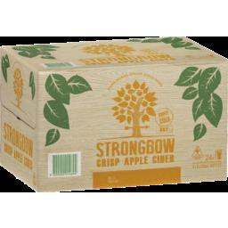 Photo of Strongbow Crisp Apple Cider 4x6 X 355ml Bottles