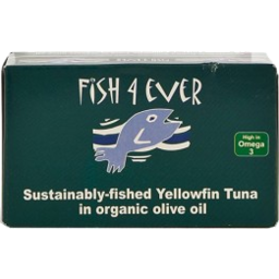 Photo of Fish 4 Ever Yellowfin Tuna in Olive Oil 120g
