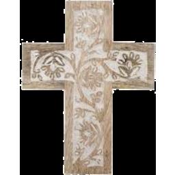 Photo of Albi Anqul Cross Sculp 15x20cm White