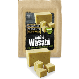 Photo of Ashgrove Cheddar Cheese Wild Wasabi 140gm