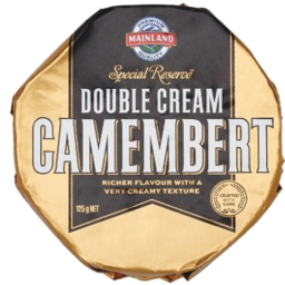Photo of Mainland Cheese Special Reserve Double Cream Camembert 125g