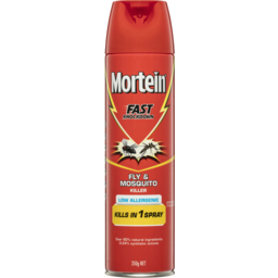 Photo of Mortein Fast Knockdown Insect Spray Low Allergenic Fly And Mosquito Killer 350g