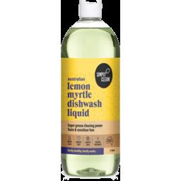 Photo of Simply Clean Lemon Myrtle Dishwashing Liquid 1L