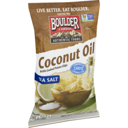 Photo of Boulder Gluten Free Coconut Oil Chips 149g
