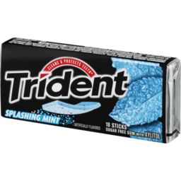 Photo of Trident Sugar Free Mint Gum- 18 Ct