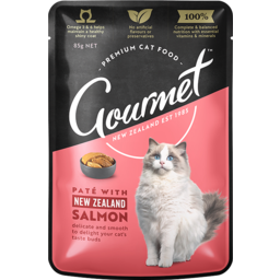 Photo of Gourmet Cat Nz Salmon 85g