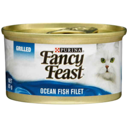 Photo of Fancy Feast Grilled Ocean Fish Filet 85gm