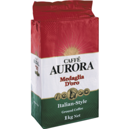 Photo of Caffé Aurora Italian Style Ground Coffee 1kg